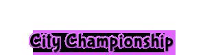 Oconomowoc City Championship