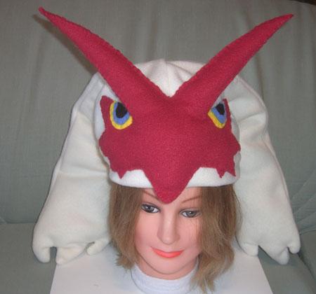 Blaziken hat - front