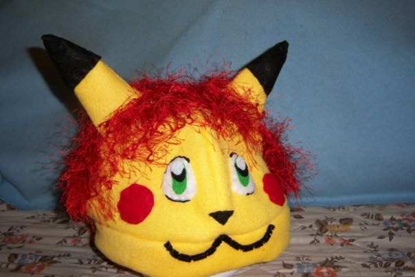 custom redhead pikachu
