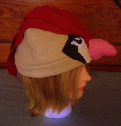 Pidgeotto hat (side)