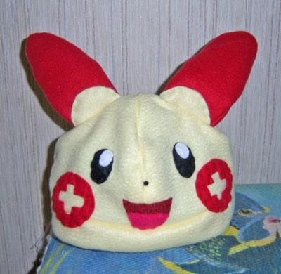 Plusle hat