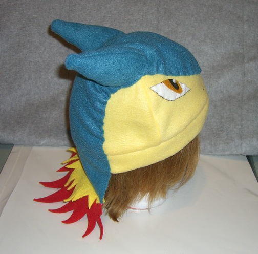 Typhlosion hat - side