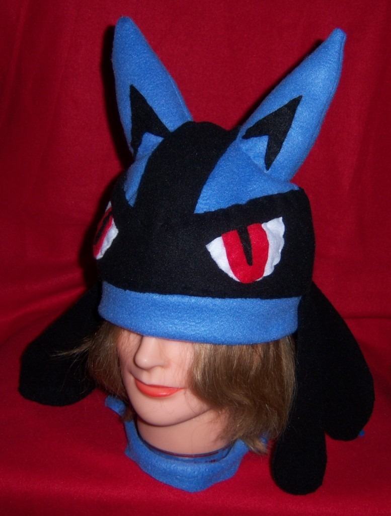 Lucario hat_side